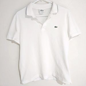 Lacoste Size 4/Small Mens Polo Shirt